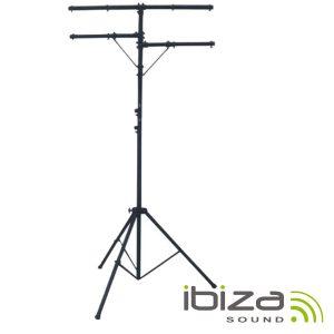 Suporte P/ Luzes Duplo 200-350cm IBIZA - (SL003)