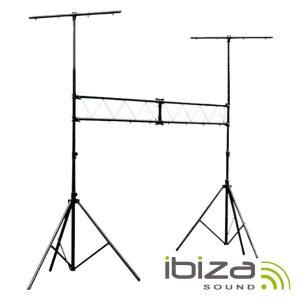 Suporte P/ Luzes 2 Barras 2.4-4m 70kg IBIZA - (SLB001)