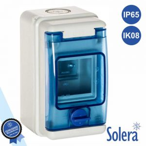 Caixa Distribuição Elétrica 3 Elementos IP65 IK08 SOLERA - (SLR-1303)