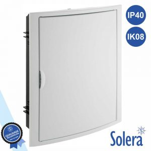 Caixa Distribuição Elétrica 28 Elementos IP40 IK08 SOLERA - (SLR-5250)