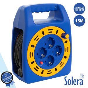 Extensão Tomada Elétrica C/ 4 Saídas 15m SOLERA - (SLR-7413/2)