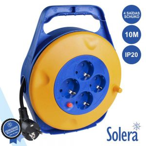 Extensão Tomada Elétrica C/ 4 Saídas 10m SOLERA - (SLR-7422/3)