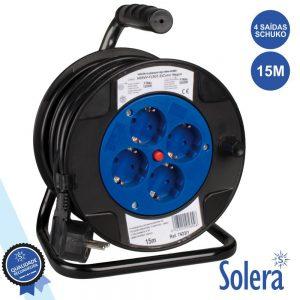 Extensão Tomada Elétrica C/ 4 Saídas 15m SOLERA - (SLR-7423/2)