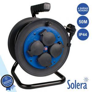 Extensão Tomada Elétrica C/ 4 Saídas 50m Proteção SOLERA - (SLR-7427/1T)