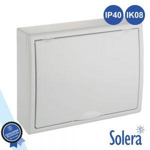 Caixa Distribuição Elétrica 12 Elementos IP40 IK08 SOLERA - (SLR-8703)
