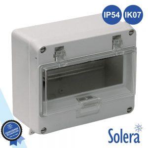 Caixa Distribuição Elétrica 8 Elementos Ip54 IK07 SOLERA - (SLR-895)
