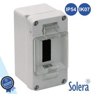 Caixa Distribuição Elétrica 3 Elementos Ip54 IK07 SOLERA - (SLR-898)