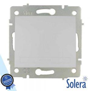 Interruptor Parede 10a 250v Sem Moldura SOLERA - (SLR-ERP02QC)
