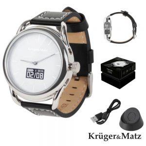 Smartwatch Híbrido Android4.4 iOS8 HYBRID Kruger Matz - (KM0419S)