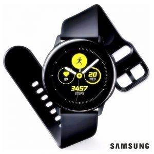 SmartWatch Galaxy Watch Active Preto SAMSUNG - (SM-R500NZKAATO)