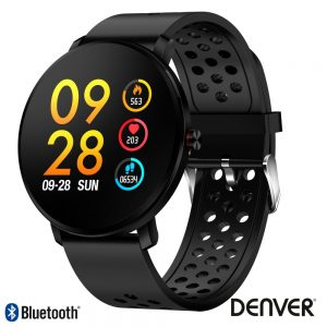 SmartWatch Multifunções P/ Android Ios Preto DENVER - (SW-171BLACK)