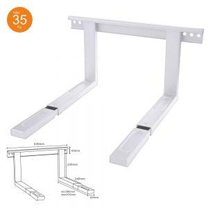 Suporte Microondas 385-570mm 35kg Branco - (SMOP285570WH)