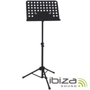 Suporte P/ Pautas Musicais 68-148cm IBIZA - (SMU003)