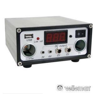 Regulador Painel Fotovoltáico 10a 12Vc - (SOL10UC)