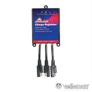 Regulador Painel Fotovoltáico 7 Amp VELLEMAN - (SOL7UC)