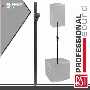 Barra Extensível P/ Coluna 35mm 88-148cm 50kg BST - (ST3)