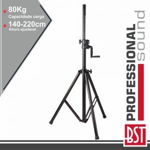 Suporte Colunas 140-220cm 35mm Mecanismo Carreto 80kg BST - (ST5)