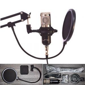 Microfone Condensador De Estúdio LTC - (STM200-PLUS)