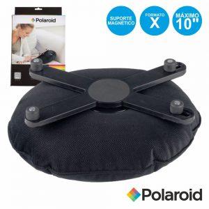"""Suporte P/ Tablets C/ Almofada E Iman Até 10"""" POLAROID - (STX-010)"""