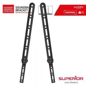 Suporte Lcd/LED Universal P/ Coluna Soundbar - (SUPSB01)