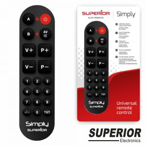 Comando TV Programável Simply - (SUPSIMPLY02)
