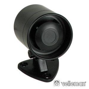 Sirene C/ Som Modulado 12V 300ma 115db VELLEMAN - (SV/PS15)