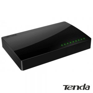 Switch De Rede Ethernet 8 Portas Gigabit RJ45 TENDA - (SG108)