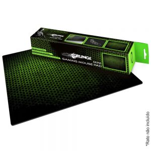 Tapete P/ Rato Gamers M 30x24 Verde E Preto - (EGP102G)