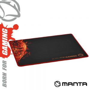 Tapete P/ Rato Gamers 40x30 Preto MANTA - (MGP002)