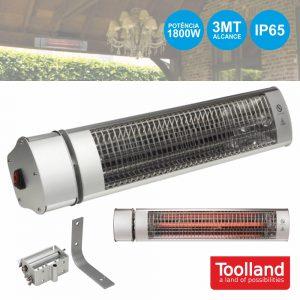 Aquecedor Ambiente P/ Exteriores 1800W IP65 TOOLLAND - (TC76204)