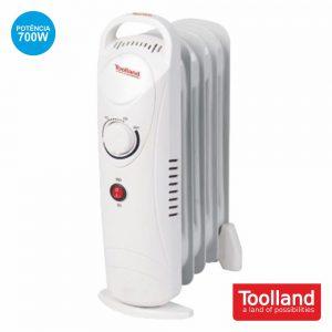 Radiador A Óleo 700W 7 Elementos TOOLLAND - (TC78007)