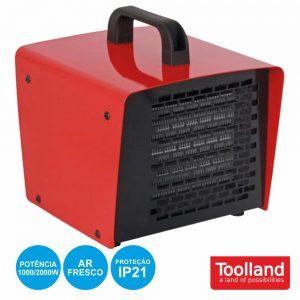 Aquecedor Ptc Industrial 1000/2000W TOOLLAND - (TC78071)