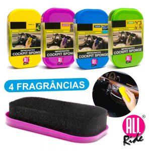 Esponja Limpeza Tablier Perfumada 4 Fragrâncias - (TCLEAN04)