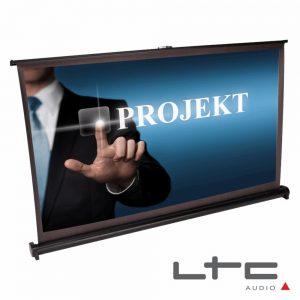 """Tela Projeção Portátil Desktop 40"""" C/ Suporte E Saco Ltc - (PST40)"""