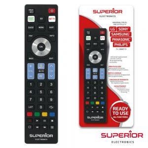 Telecomando Universal P/ SAMSUNG Lg Sony Philips Panasonic - (READY5SMART)