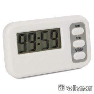Temporizador C/ Contagem Decrescente E Alarme VELLEMAN - (TIMER10N)
