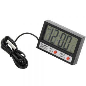 Termómetro Digital C/ Relógio - (TH002)
