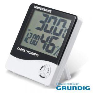 Termómetro E Higrómetro Digital GRUNDIG - (14624)