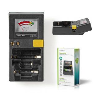 Testador de Baterias AAA/AA/C/D/9V - (BATE110)