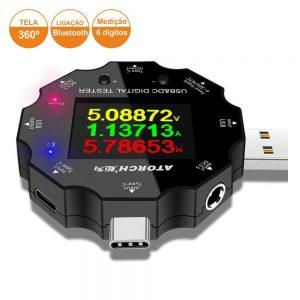 Testador Digital USB/DC 3.6V-32V - (PK-USBTESTER04)