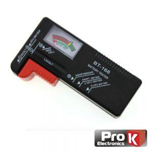 Testador De Baterias Universal AA/AAA/C/D/9V/1.5V PROK - (TESTBAT01)