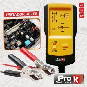 Testador De Relés Auto PROK - (TESTREL05A)
