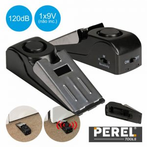 Alarme De Porta 120db C/ Sensor E Vibração Perel - (TL74053)