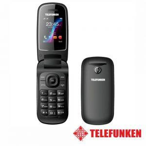 "Telemóvel 1.8"" FM Dual SIM Preto TELEFUNKEN - (TM18.1BK)"