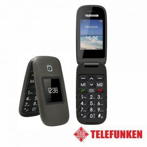 "Telemóvel 2.6"" FM Dual SIM Preto TELEFUNKEN - (TM260A)"