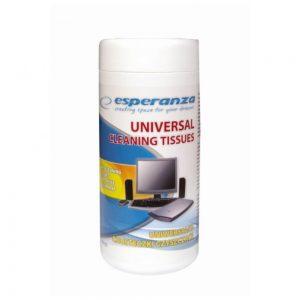 Toalhetes Humidos P/ Limpeza De Equipamentos Elétricos 100x - (ES105)
