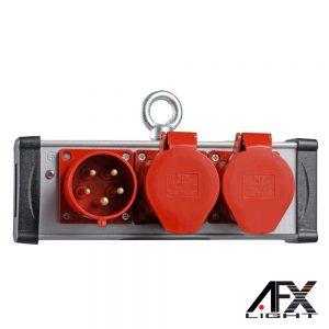 Tomada Elétrica C/ 2 Saídas 1 Entrada AFXLIGHT - (PBOX-PSP32)