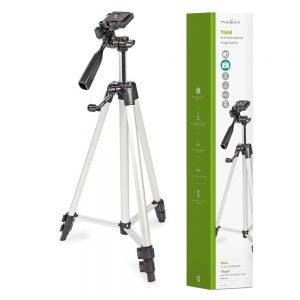 Tripé P/ Máquina Fotográfica/Filmar Em Alumínio Nedis - (TPOD2200GY)