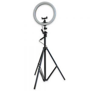 Ring Light Candeeiro de Estúdio 12W C/Tripé Extensível - (CAND-TRIP-02)