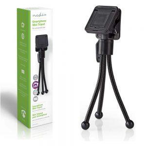Tripé Universal P/ Smartphone NEDIS - (SMTD100BK)